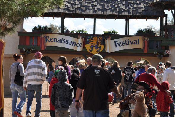 Chicos y grandes disfrutaron del primer fin de semana del Festival Anual...