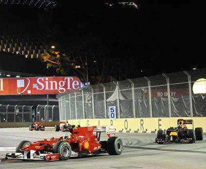 GP de SINGAPUR, 26 de septiembreFernando Alonso ganó el Gran Prem...