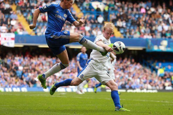 En las acciones de este partido, Chelsea llevó el ritmo del duelo.