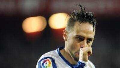 Sergio García anotó el gol del triunfo del Espanyol.