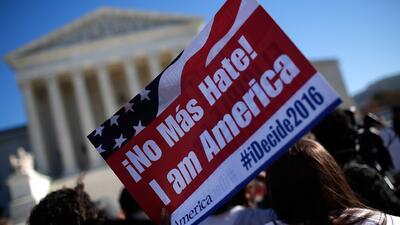 La Corte Suprema concede 8 días a Texas en caso sobre acción ejecutiva