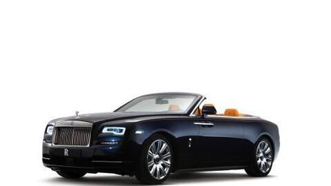 Rolls-Royce presentó el Dawn, su nuevo descapotable para que cuatro pasa...