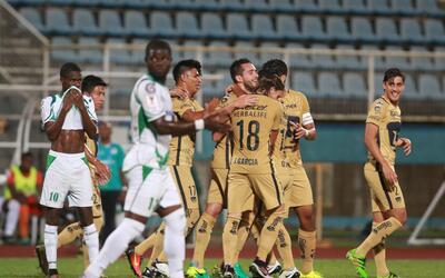 Pumas goleó de visitante a W Connection en su debut en la  Liga de Campe...