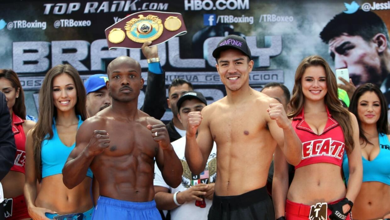 Bradley y Vargas sin problemas de peso.
