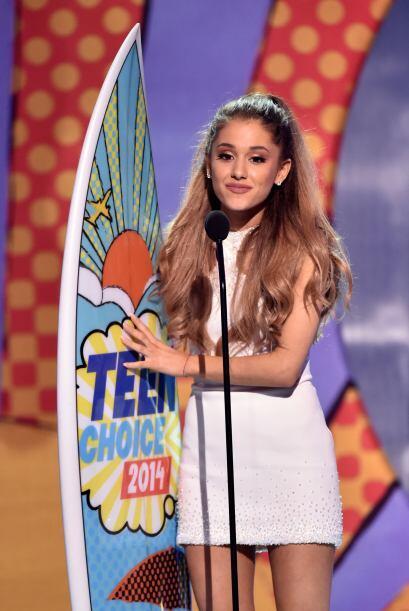 Ariana sin duda vive un gran momento en su carrera.