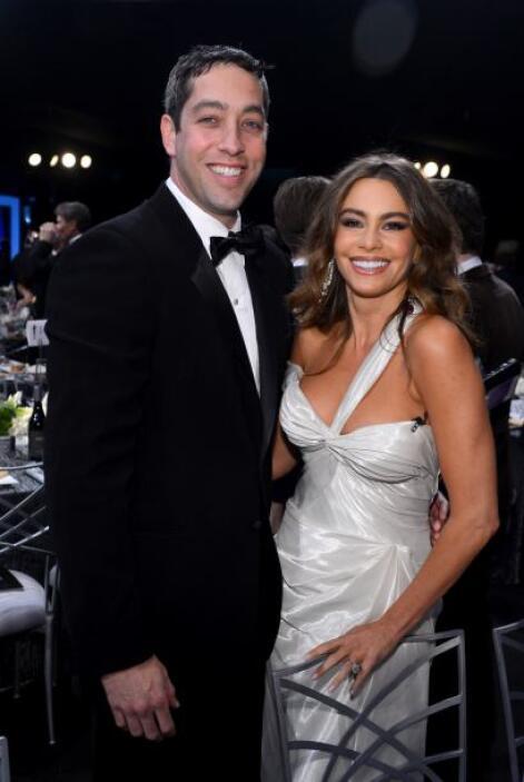 A días de aquel rumor, la pareja llegó tomada de la mano a los SAG Awards.