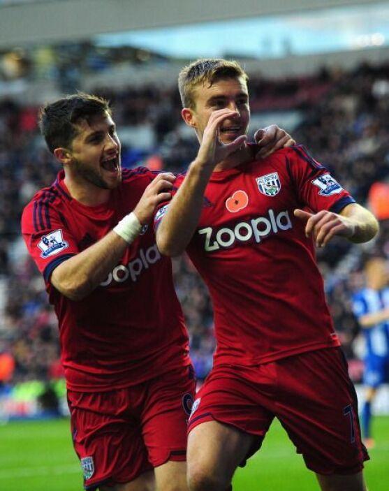 El West Bromwich le ganó como visitante al Wigan y sigue siendo la revel...
