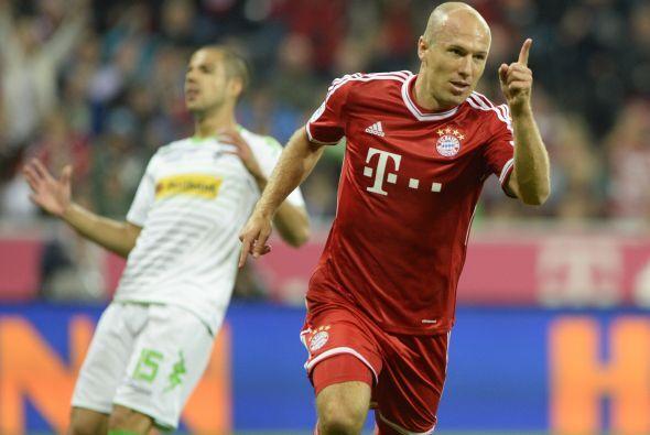 En el Bayern de Múnich, Ribery no estará solo. Le acompañará el extremo...