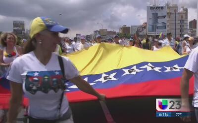 Paro general de la oposición venezolana se realiza parcialmente