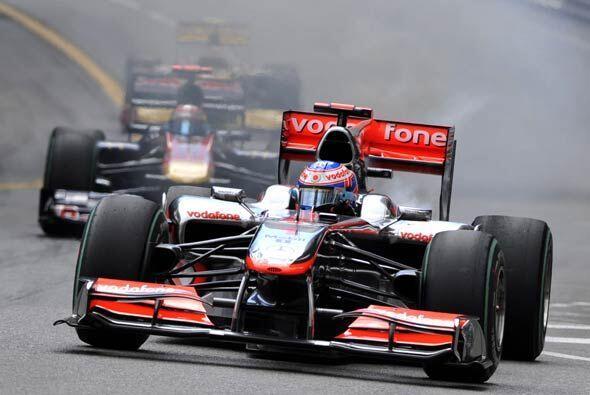 Jensun Button, el actual campeón de la Fórmula 1, esperaba...