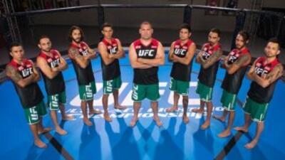 Peleadores mexicanos buscarán lugar en la UFC (Foto: Twitter).