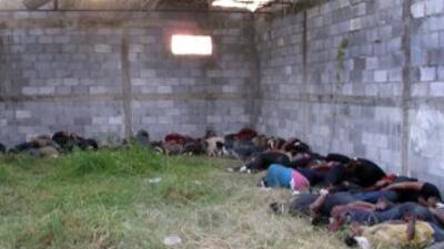 Masacre de indocumentados en México