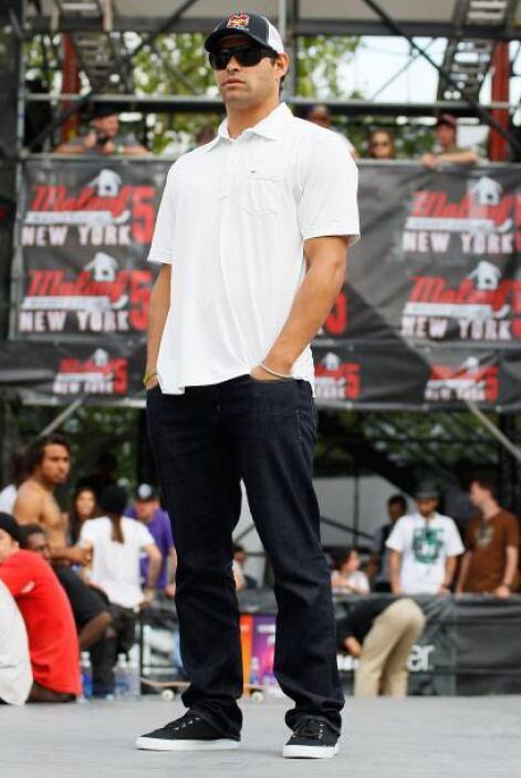 El quarterback de los New York Jets fue un invitado especial al evento M...