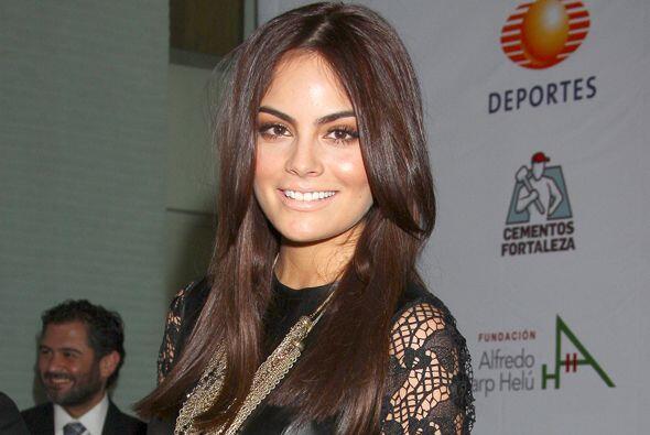 Ximena Navarrete correrá por una buena causa.