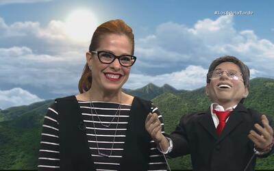 El Gobe se confiesa con Suzette Bacó