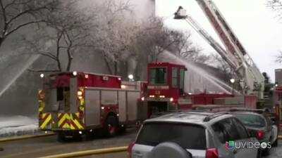 Explosión en un edificio de apartamentos en Minneapolis