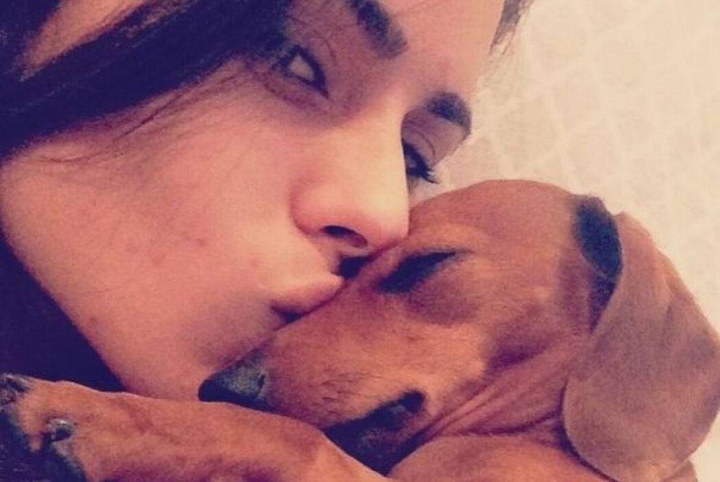 Este tierno canino lo es todo para Vanessa De Roide.