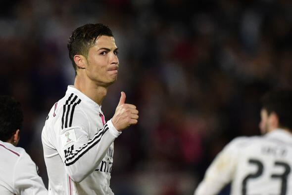 El respiro llegó a Cristiano Ronaldo en un partido que se le complicaba...