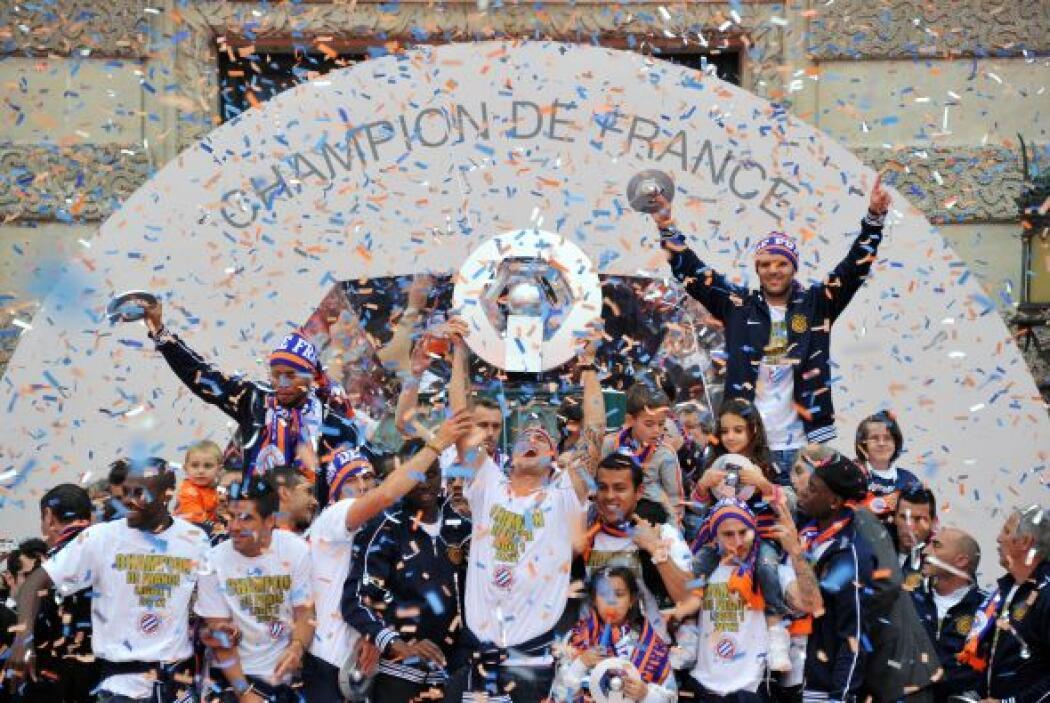 Francia tuvo un nuevo campeón, el Montpellier, que obtuvo la primera Lig...