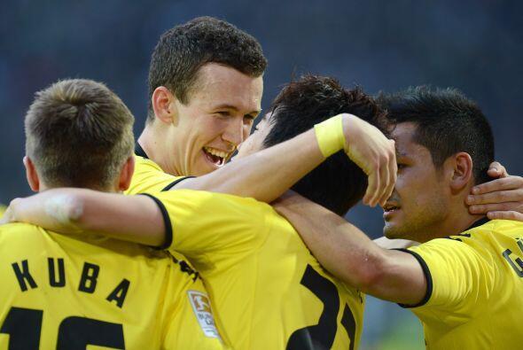 El jugador del Borussia Dortmund ha sido de lo mejor de ese club en esta...