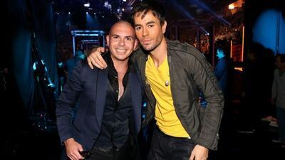 El español sale de fiesta con su amigo Pitbull.