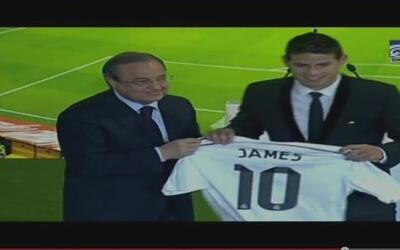 ¡James ya es parte del Real Madrid!