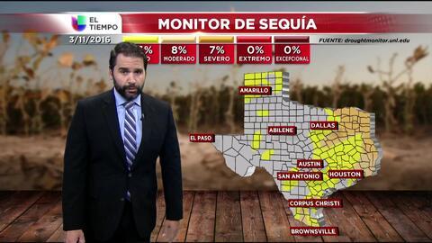 El tiempo: lluvia, sequía y fin de semana