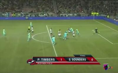 Portland Timbers derrotó 1 - 0 al Seattle Sounders
