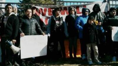 Protestantes en Norristown. Imagen por cortesía de DreamActivist PA