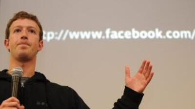 Mark Zuckerberg, el fundador de la popular red social Facebook, fue eleg...