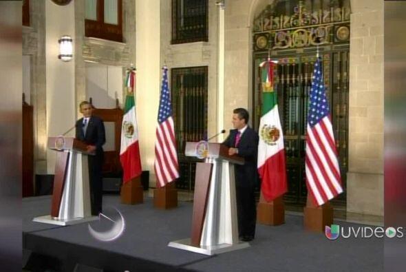 El presidente de EEUU, Barack Obama, se despidió de México...