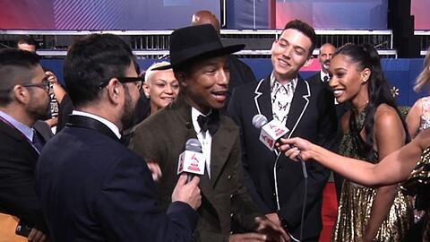 Pharrell y J Balvin tienen una amistad muy especial, ¿lo llevará a Colom...