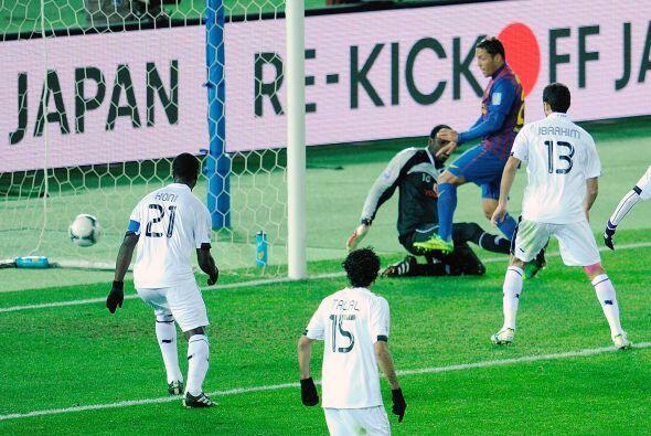 El lateral Adriano abrió el marcador a los 24'.