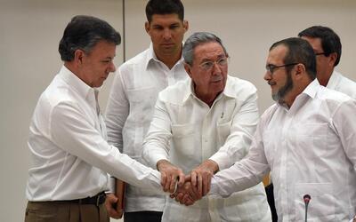 Una vez anunciado el acuerdo Santos enviará al Congreso el texto...