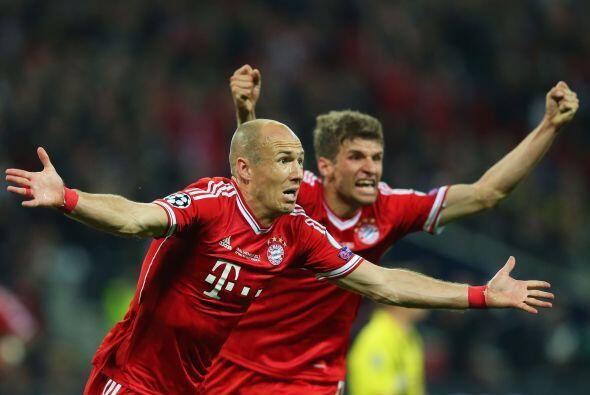 Gol que vale un título para el Bayern de Múnich.