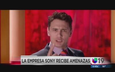 """Sony cancela el estreno de la cinta """"The Interview"""""""