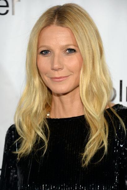 Gwyneth Paltrow, que recientemente anunció su separación del cantante de...