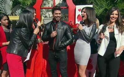 Los presentadores de Nuestra Belleza Latina te mandan su amor