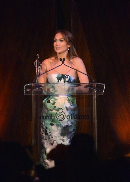 En el evento, Jennifer Lopez  reafirmó su apoyo para evitar las malforma...