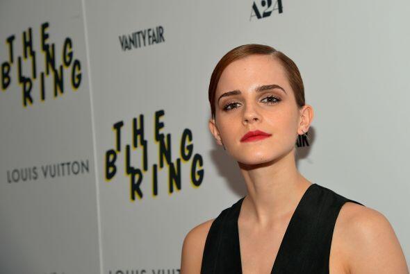 Emma Watson nació el 15 de abril de 1990.