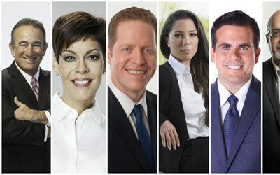 Candidatos a la Gobernación de Puerto Rico.