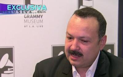 Pepe Aguilar abre su baúl de recuerdos en el Museo del Grammy