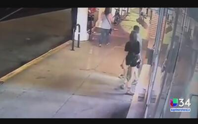 Identifican a hombre que dio un puñetazo en la cara a una mujer en Venice