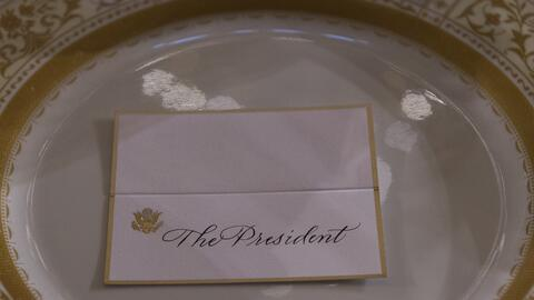 El almuerzo inaugural de la presidencia de Donald Trump incluye una entr...