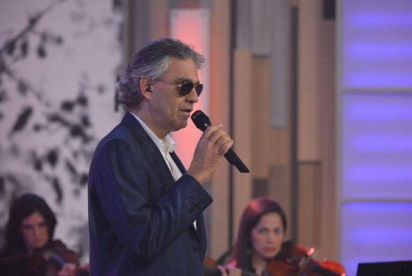 """""""Pasión"""" es el nombre del nuevo disco del señor Bocelli."""