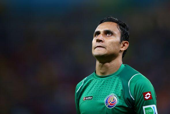 El costarricense Keylor Navas está desesperado porque su traspaso al Rea...