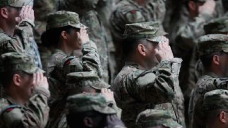 Un grupo de militares estadounidenses formó parte de una red que enviaba...