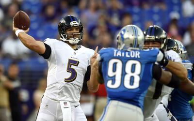 Lions 9-30 Ravens: Ryan Mallett y la defensiva de Ravens acabaron con De...