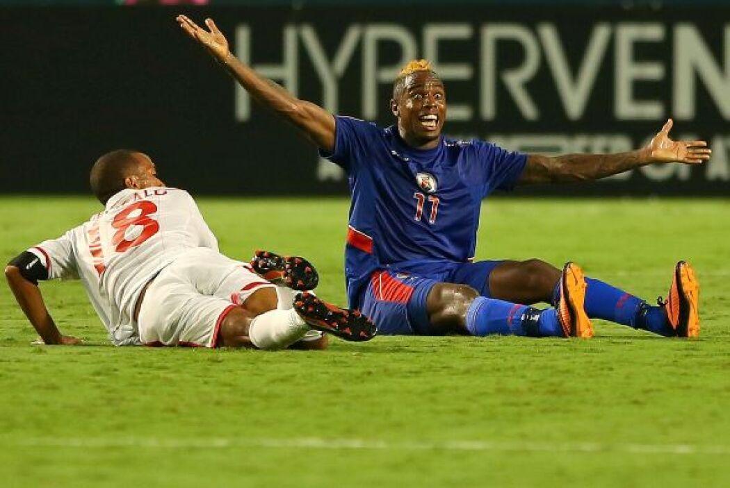 A partir de ese momento, los haitianos manejaron el partido a su antojo...