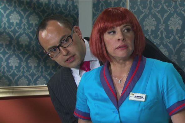 En secreto, Anita le dijo a Mauricio Clark que lo llevaría a la habitaci...